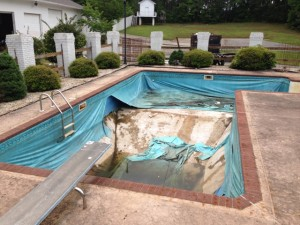 atlanta pool liner installation 1