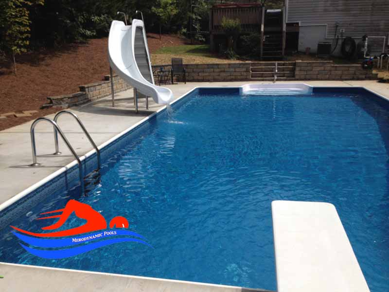 Atlanta Vinyl Liner Swimming Pool Contractor Pool Liner