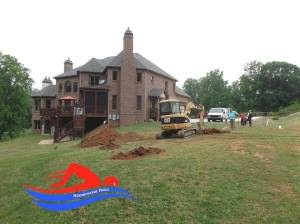 Cartersville ga Inground Pool Installation before