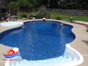 atlanta ga swimming pool installation spillover