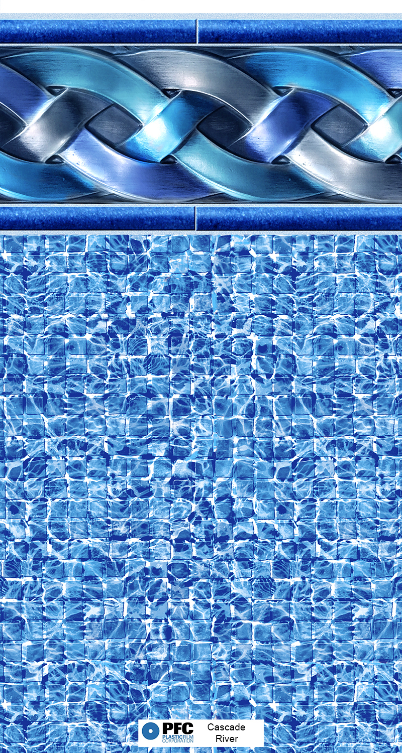 Cascade River 27 Mil Atlanta Vinyl Liner Swimming Pool