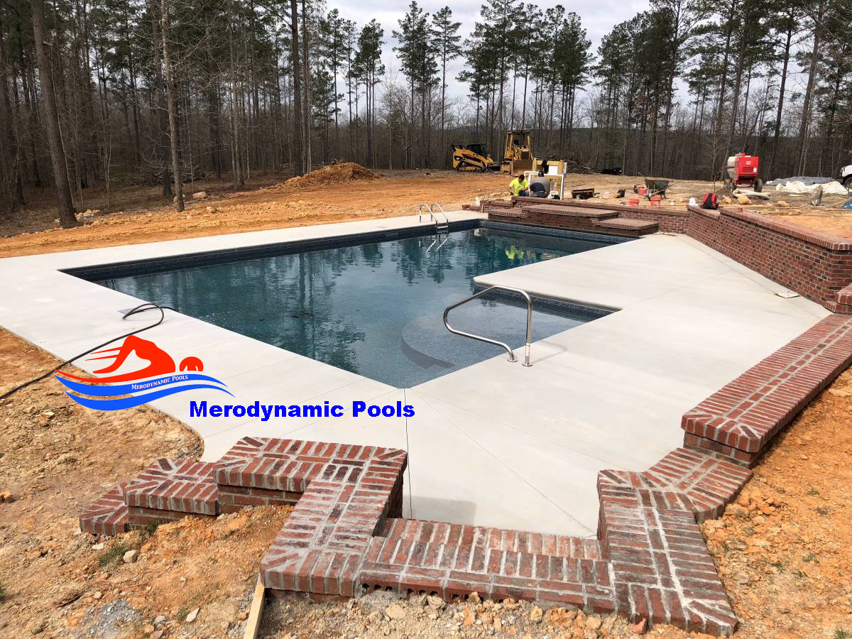 Inground Pool Installation Atlanta Ga Vinyl Pool Builder Co