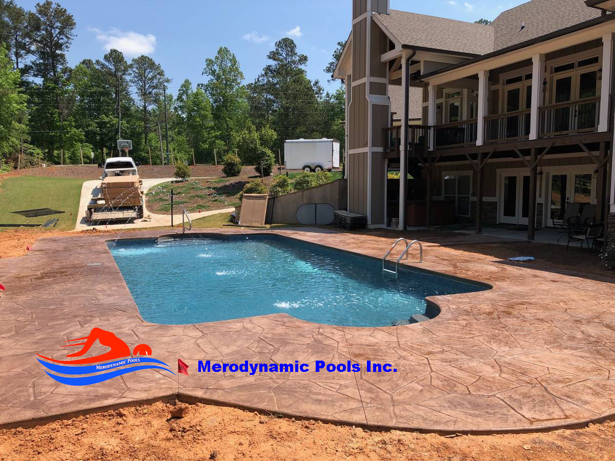 Inground Pool Installation Atlanta Ga